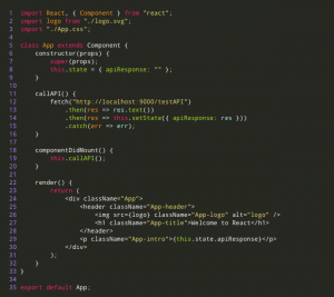 The final code will look like this - Clickysoft